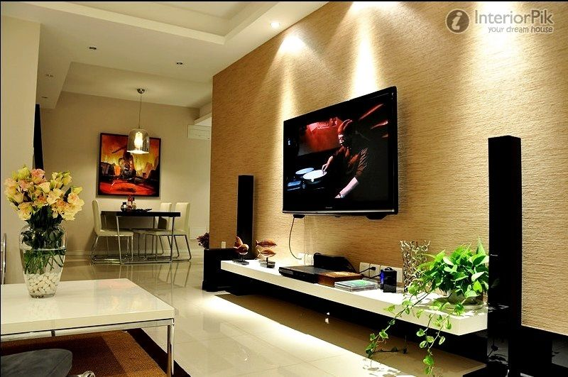 Apartment Living Room Wall Decorating Ideas Small Apartment
