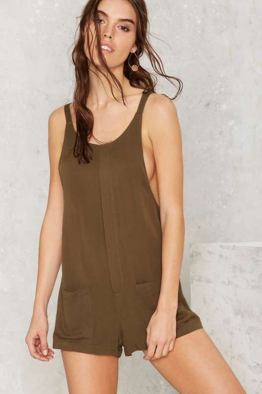 Chill of Rights Utility Romper