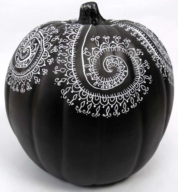 Painted Pumpkin Designs and Mandala Art - Cloth Paper Scissors