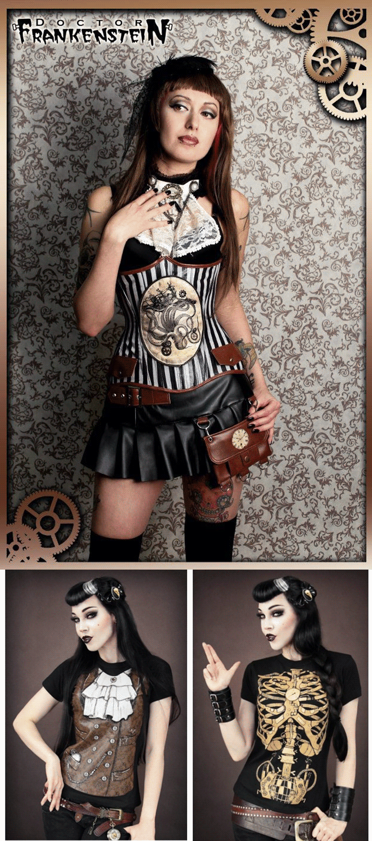 shop gothic steampunk womens clothing at rebelsmarket