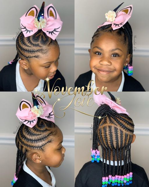 2019 2020 Gorgeous Braids For Kids With Images Braids For Kids