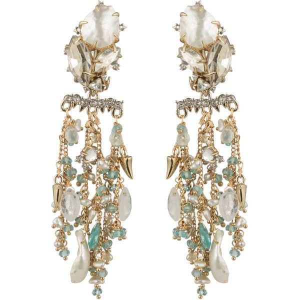 Multi drop chandelier clip earring found on polyvore featuring multi drop chandelier clip earring found on polyvore featuring womens fashion jewelry earrings aloadofball