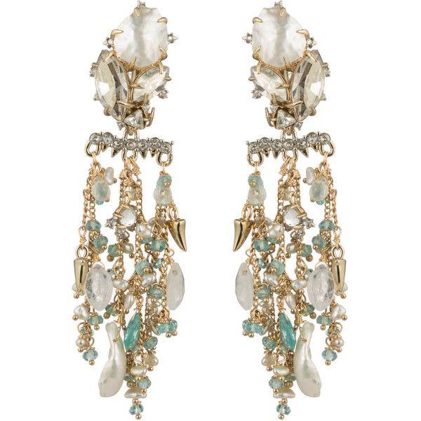 Multi drop chandelier clip earring found on polyvore featuring multi drop chandelier clip earring found on polyvore featuring womens fashion jewelry earrings aloadofball Image collections