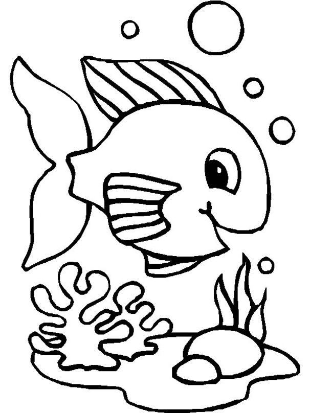 ausmalbilder unterwassertiere  preschool activities