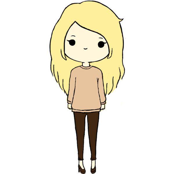 Cómo Dibujar Una Chica Tumblr Muñeca
