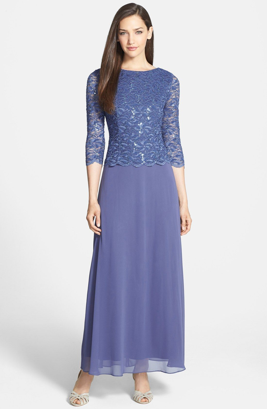 Alex Evenings Mock Two-Piece Dress (Regular & Petite) | women\'s ...
