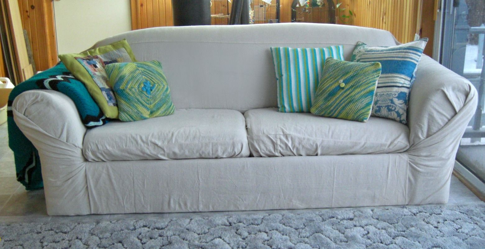 How To Recover A Couch Do Diy Sofa Cover
