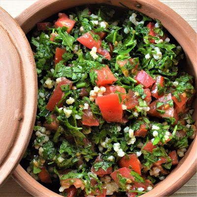 Tabbouleh with Quinoa - Bake Free - EN