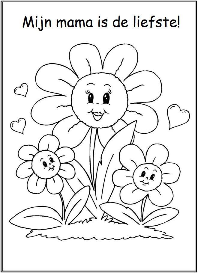 mijn is de liefste lente moederdag