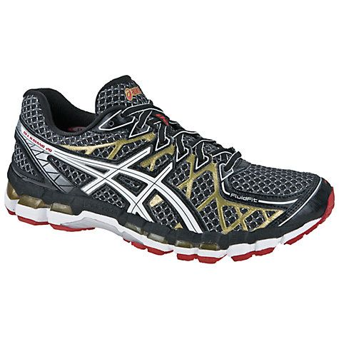 newest 2c6df e2c3d Buy Asics Men s GEL-Kayano 20 Running Shoes, Black White Gold Online