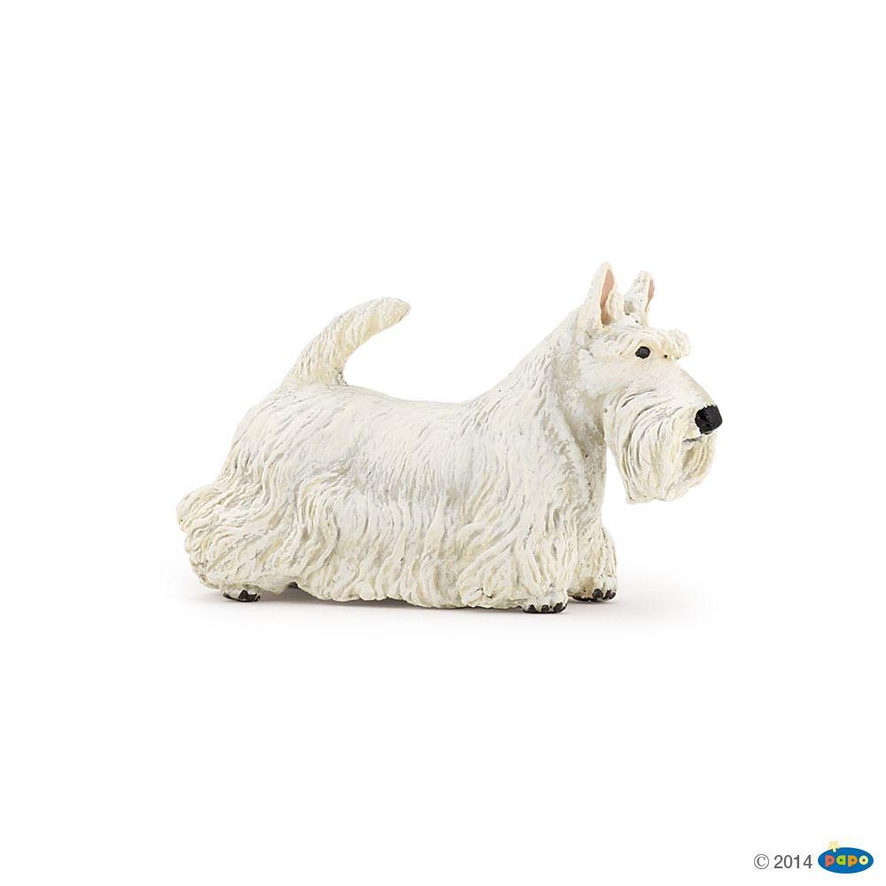 Figurine Scottish terrier blanc - Figurines CHIENS ET CHATS DE COLLECTION