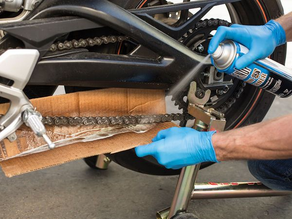 How To Clean Your Motorcycle Chain Bike Repair Motorcycle Chain
