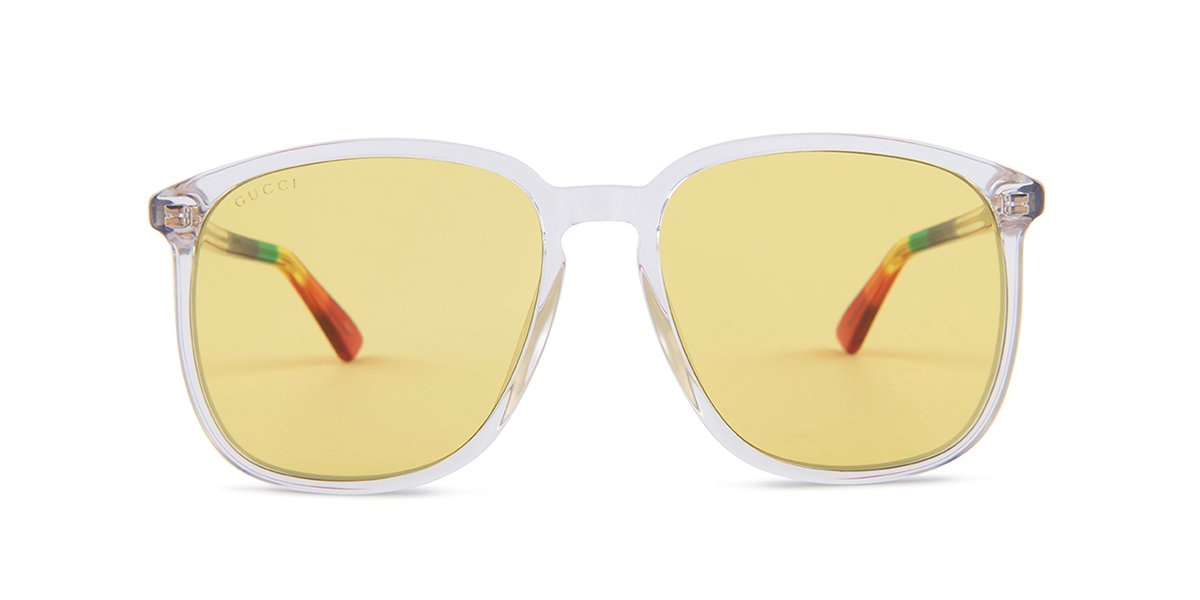 98c9450637c Gucci GG0265S Clear   Yellow Lens Sunglasses – shadesdaddy