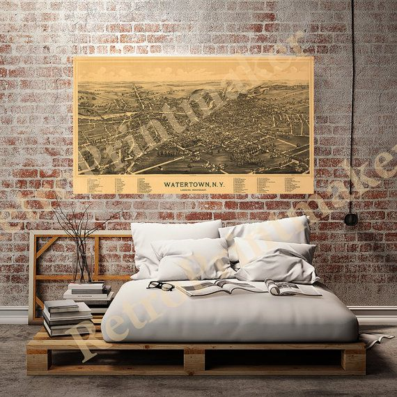 Watertown, Jefferson County, New York NY  1891 \ - neue schlafzimmer look flou