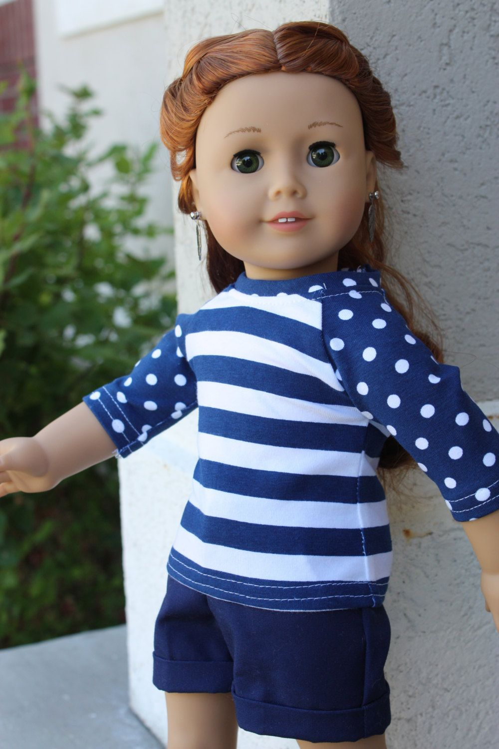 18 inch doll clothes made to fit dolls such as amercian girl, AG ...