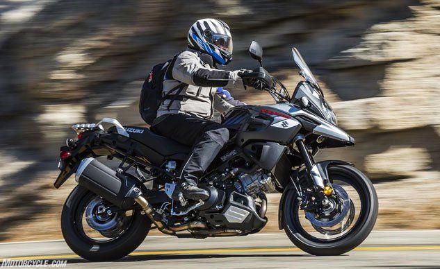 2018 suzuki motorcycle models. beautiful 2018 2018 suzuki vstrom 1000 and 1000xt review  motorcyclecom with suzuki motorcycle models