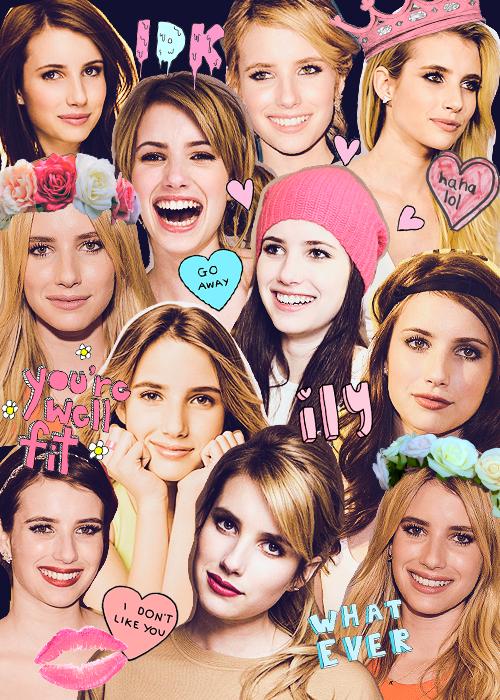 Emma collage | Scream Oueens in 2019 | Emma roberts ...