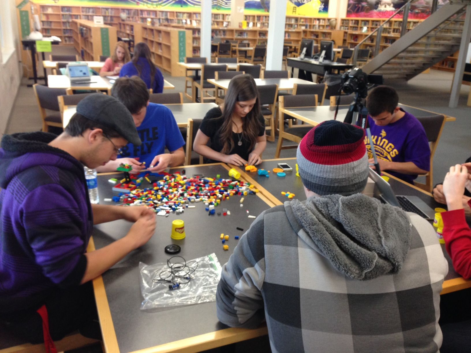 Srrha Students Engaged In A Makerspace Program Image