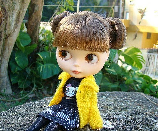 Princess Leia buns!