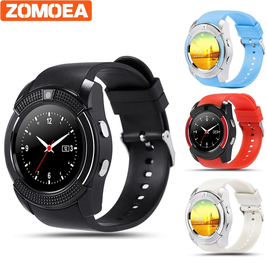 Q7 bluetooth smart watch for android phone support SIM Pedometer