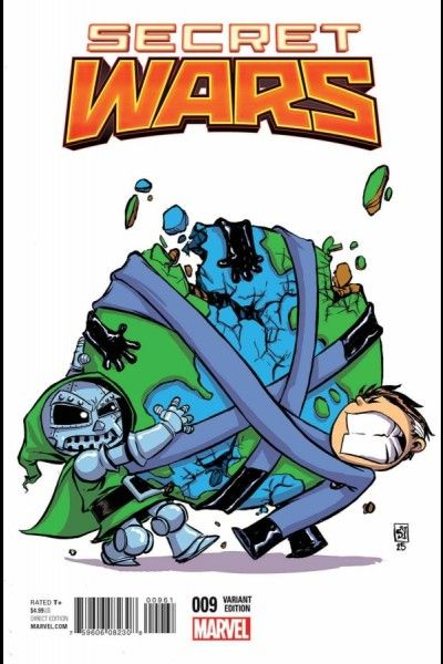 Secret Wars #9 Skottie Young Variant