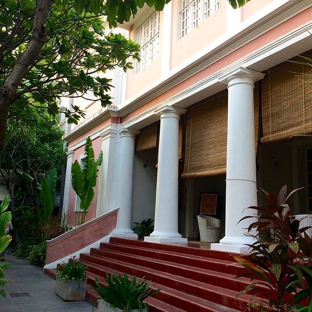 Our store partner CHINTZ in Pondicherry is housed in a gorgeous