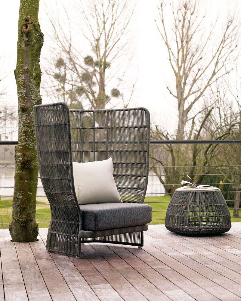 Armchair Canasta  Bu0026B Italia Outdoor   Design Of Patricia Urquiola
