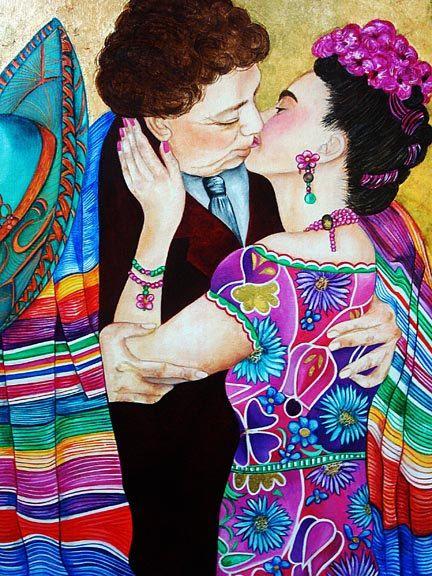 Mexican Art Frida Kahlo Frida Kahlo Print by kMadisonMooreFineArt