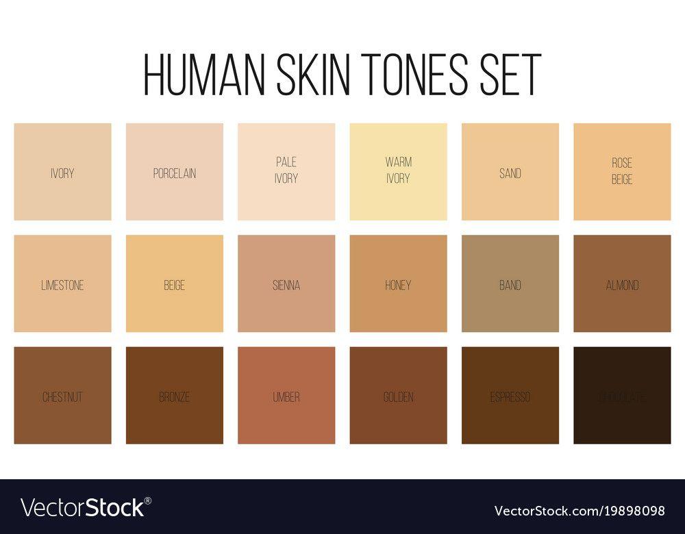 Skin Color Code Cmyk - NaturalSkins