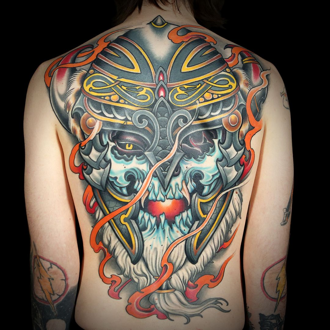 35 Hour Master Canvas Tattoo by Tony Medellin Ink master