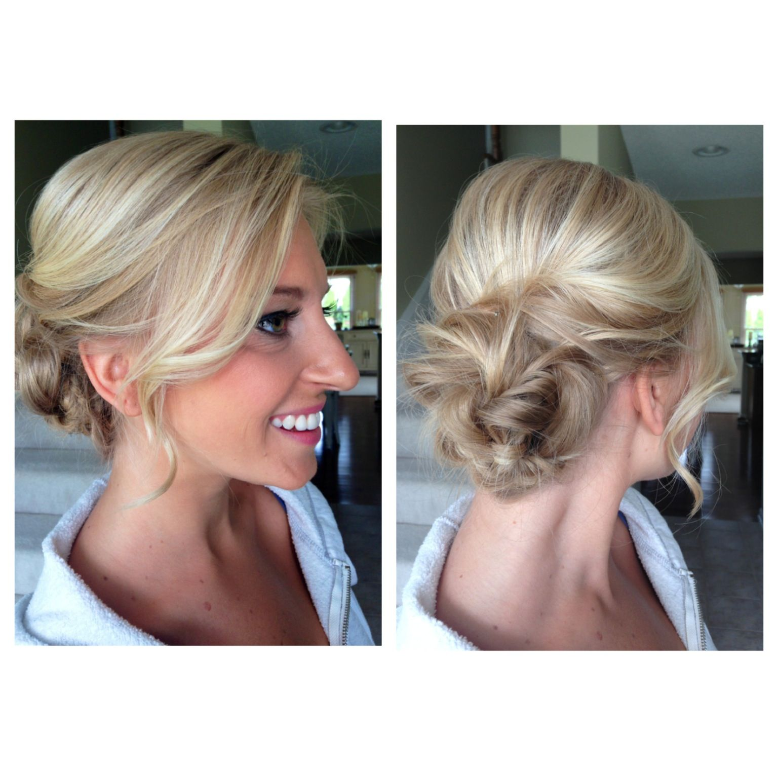 Bridal Hair And Airbrush Makeup Wedding Updo For The Perfect