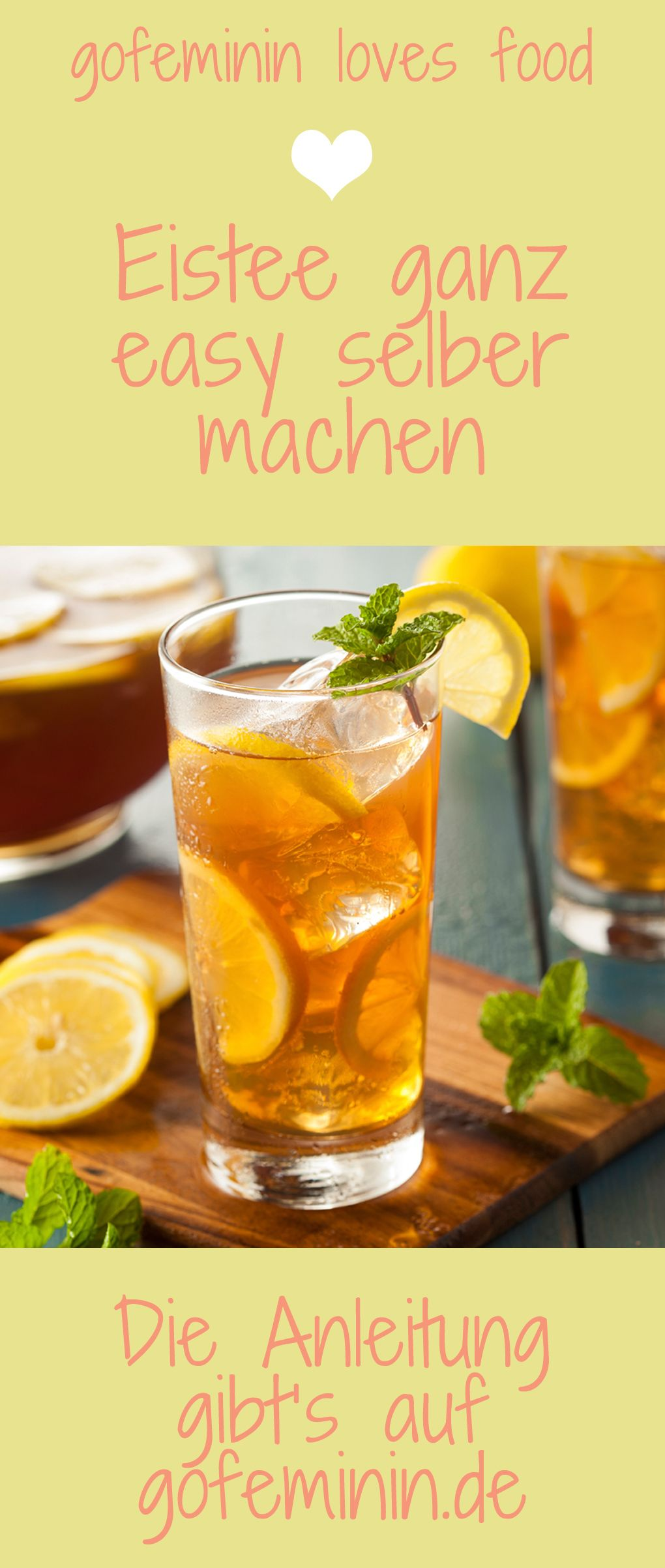 Photo of Summer, sun, iced tea! So easy you can make the trendy drink yourself