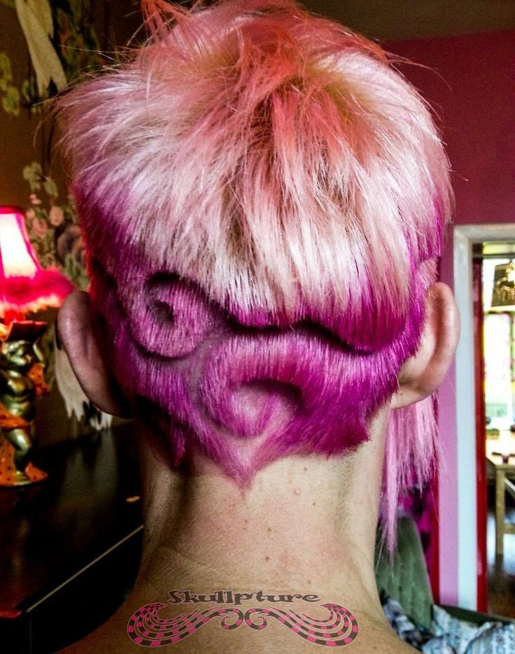 36 Incredible Shaved Hair Designs In 2020 Shaved Hair