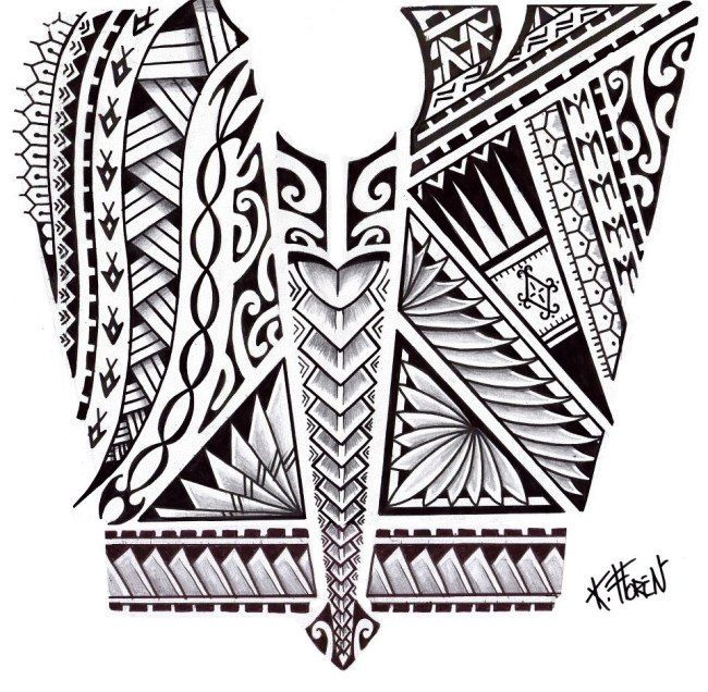 tatto ideas trends 2017 discover dessin de tatouage maori aux bandes de symboles discovred. Black Bedroom Furniture Sets. Home Design Ideas