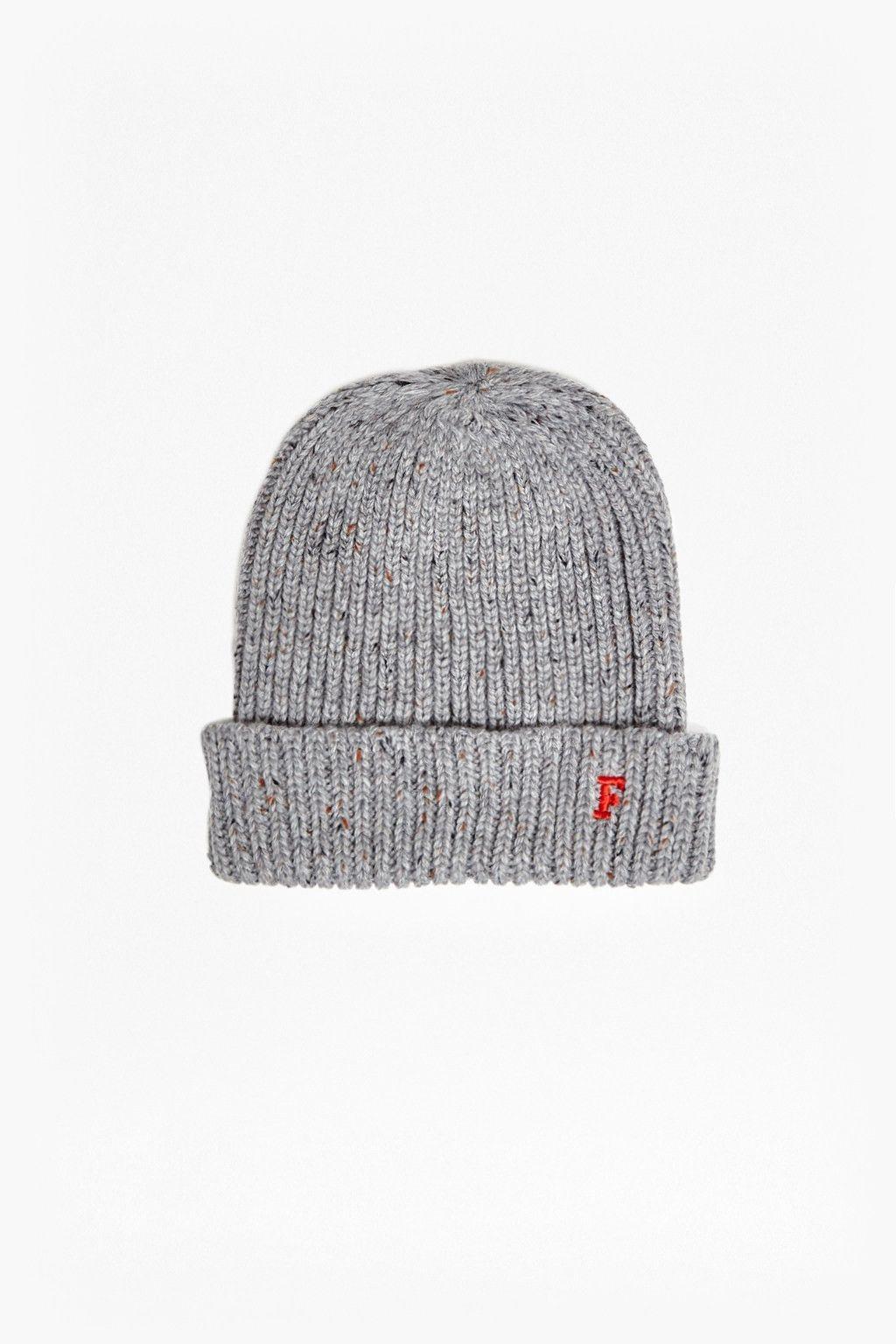 Knit Hat Grey