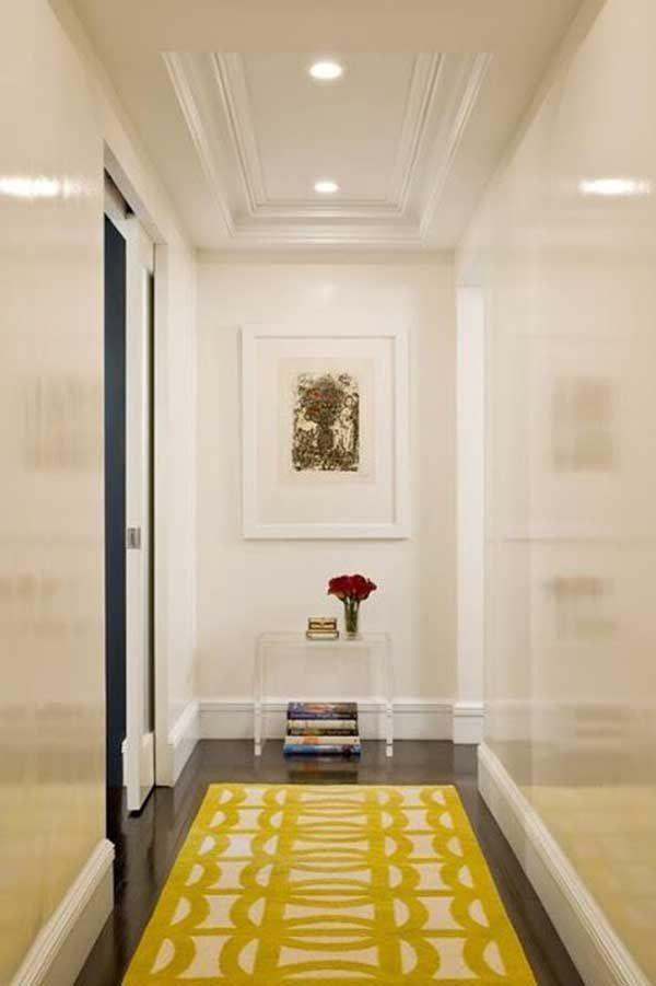 50 ideas para pintar y decorar un pasillo estrecho zonas for Para desarrollar un corredor estrecho