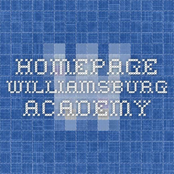 Homepage - Williamsburg Academy