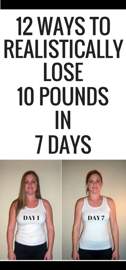 12 ways to realistically lose 10 pounds in 7 days quick weight losing weight seems an uphill task to many especially when you need to lose weight in a couple of days and especially when you need to look good for an ccuart Images