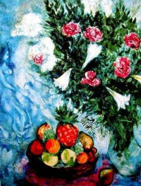 """Marc Chagall Round Prints 