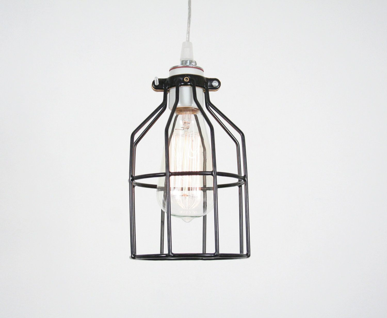 Industrial Cage Pendant Lamp Industrial Pendant Lamp Antique