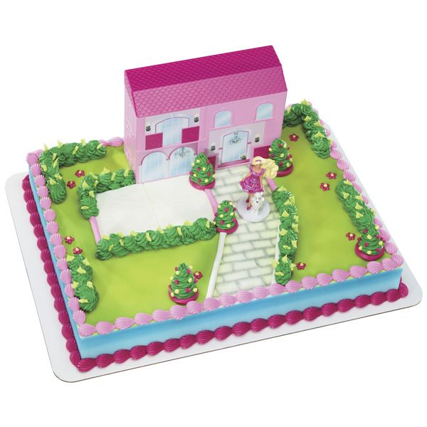 Barbie Dream House Party Simple Signature Cake