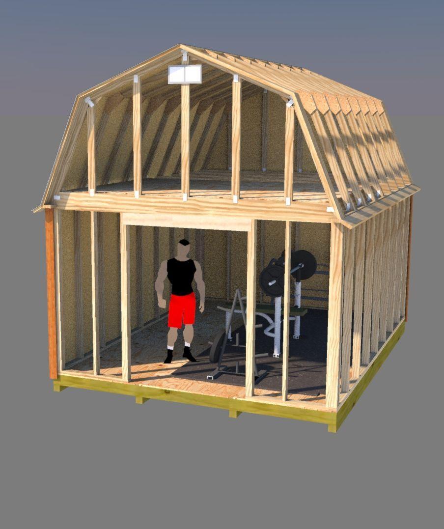 12x16 Barn Plans Barn Shed Plans Small Barn Plans Building A Shed Shed Plans Small Barn Plans