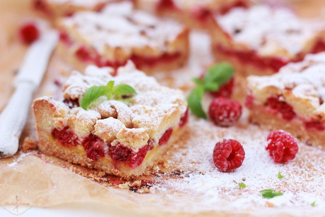 Ekspresowy placek malinowy / Express raspberry cake