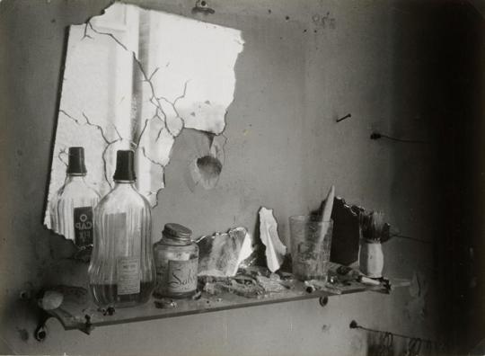 Brassaï, The bathroom mirror, Paris, 1944