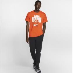 Photo of Nike Dri-fit LeBron Basketball-T-Shirt für Herren – Orange Nike