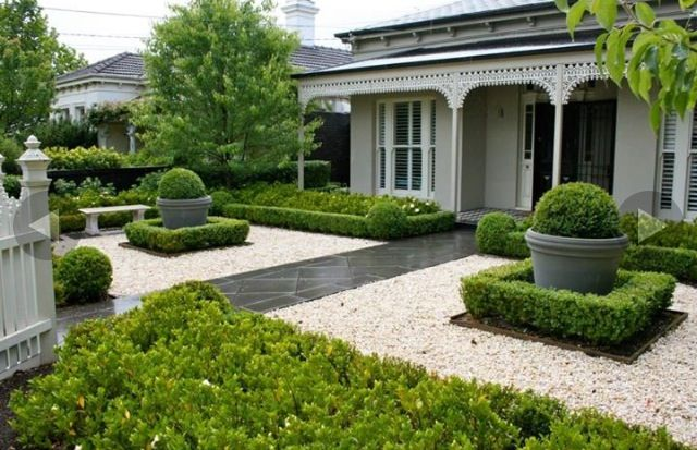 Simple Landscaping Front Yard Curb Appeal House