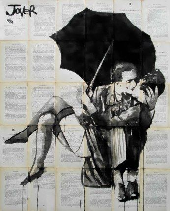Vintage collage by Loui Jover