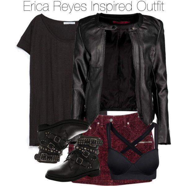 7f14b4f876b Erica Reyes Inspired Outfit by staystronng on Polyvore featuring Zara,  Boohoo, Isabel Marant, EricaReyes and tw