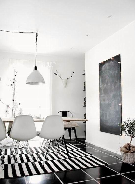 Ikea Stockholm Black Tileswhite