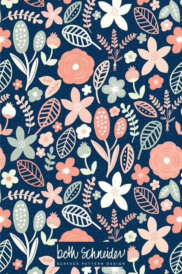 Beth Schneider - Surface Pattern Design